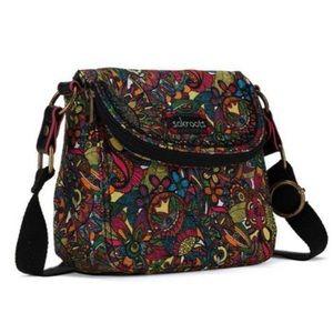 SAKROOTS   Rainbow Fold Crossbody Bag